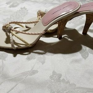 Chinese Laundry - slings - sandals - pink pastel